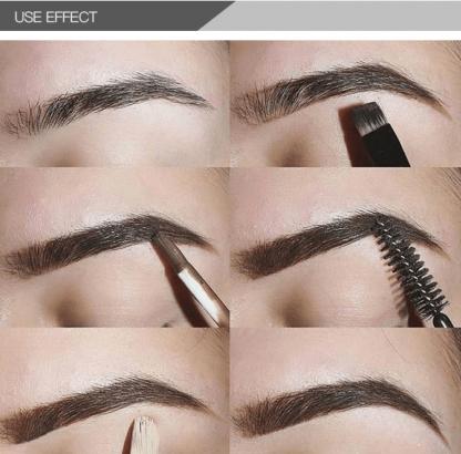 pudaier cosmetics profesionalna sminka - gel za obrve definiranje i ispunjavanje