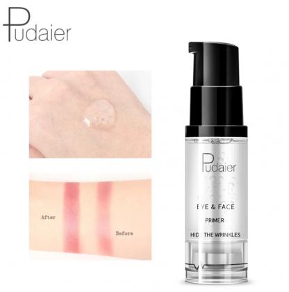 pudaier cosmetics profesionalna sminka - baza za oci i lice prije i poslije